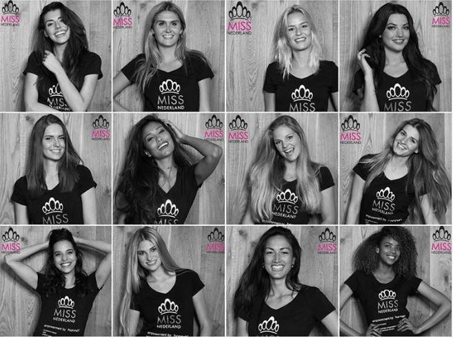 12_finalisten_Miss_Nederland